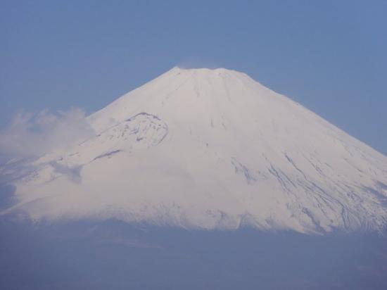 Hakone-machi, Japan: la symétrie, une base large, le plus haut, le Fuji n'est pas une montagne, c'est un chemin.La de