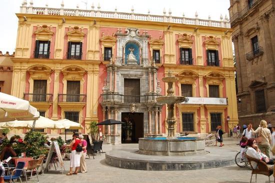 Málaga, España: Malaga, palais épiscopal