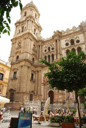 Málaga, España: Malaga, cathédrale