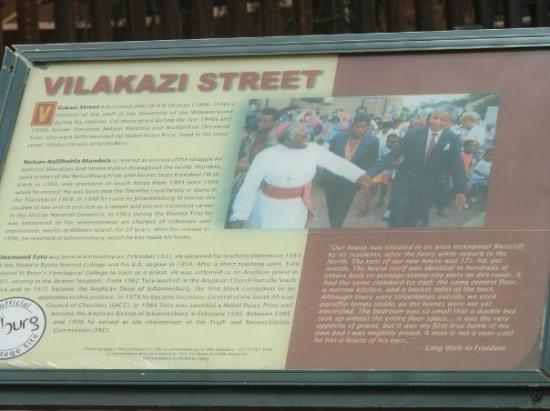 Soweto, Sudafrica: The street where Nelson Mandela & Desmond Tutu Both lived