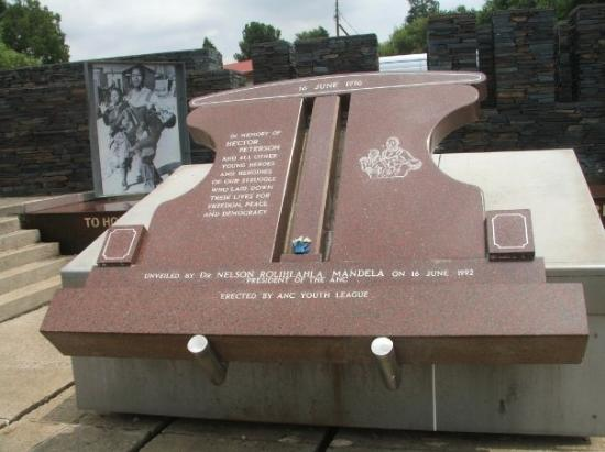 Hector Peiterson Monument Soweto (Google it)