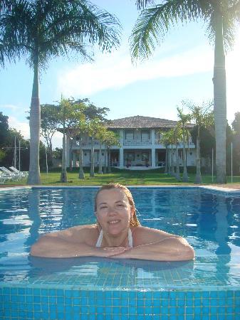 Casa Grande Sao Vicente: final de tarde na piscina