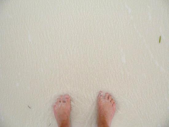 Cayo Santa Maria, Kuba: Le sable doux et chaud