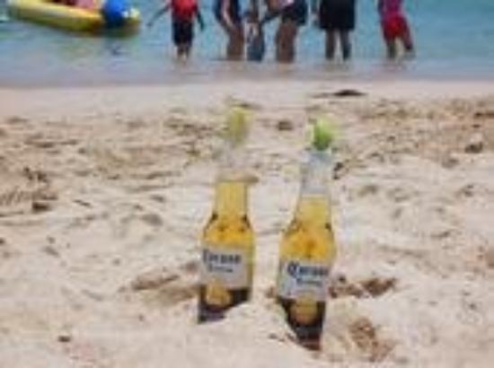 Having coronas @ Ixtapa!