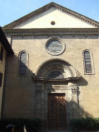 Church of Santa Felicita: サン・フェリーチェ教会外観