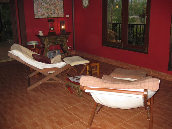 Suan Nanachaat - Massage and Lifestyle : Foot masage chairs, so comfortable!
