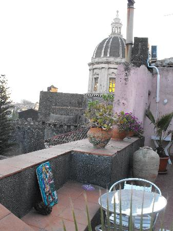 Bed & Breakfast San Placido Inn: Terrace View 3