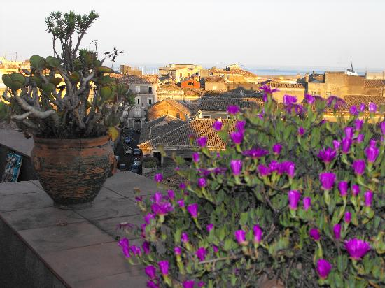Bed & Breakfast San Placido Inn: Terrace View 4
