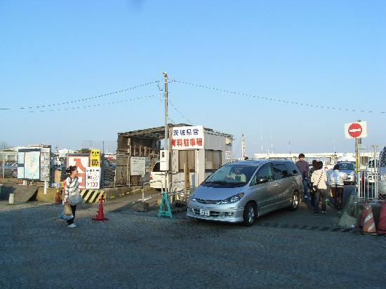 ひたちなか市, 茨城県, 県営駐車場