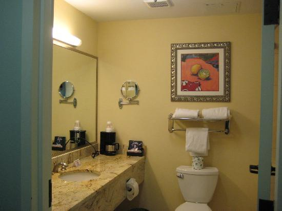 ‪‪Holiday Inn Express Tampa North - Telecom Park‬: Bathroom‬