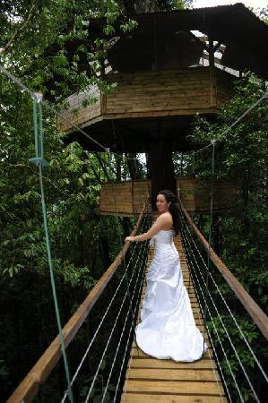 Finca Bellavista: wedding at the treehouse