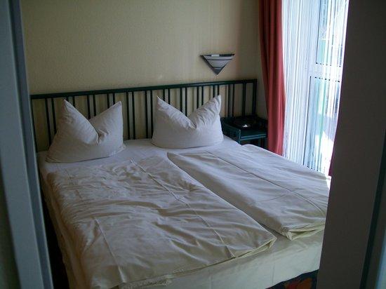 Tropenhaus Bansin: das seperate schlafzimmer