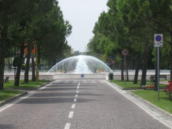 Bibione, Italien, Zentrum
