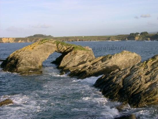 Ribadeo, Espagne : Pena Furada