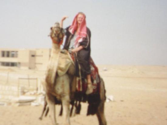 Haifa, Israel: Mig ehh  til kamel