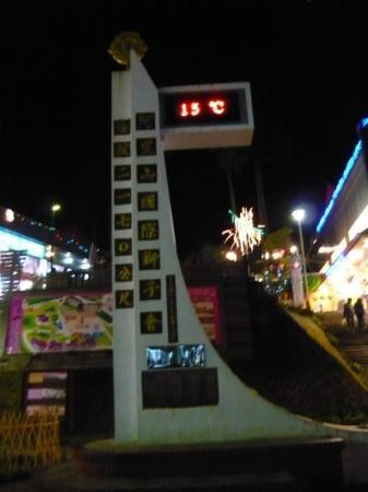 Xinbei, Taïwan : 晚上的气温。
