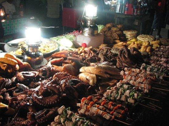 Zanzibar Island, Tanzania: zanzibar's seafood night market (pasar malam )