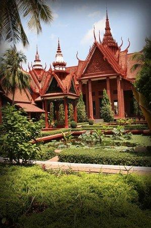 Phnom Penh, Kambodsja: cambodia national museum