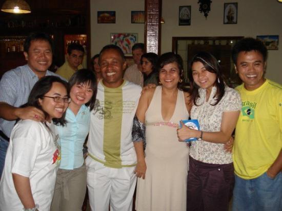 Feira de Santana, BA : GSE Team with our dance instructors