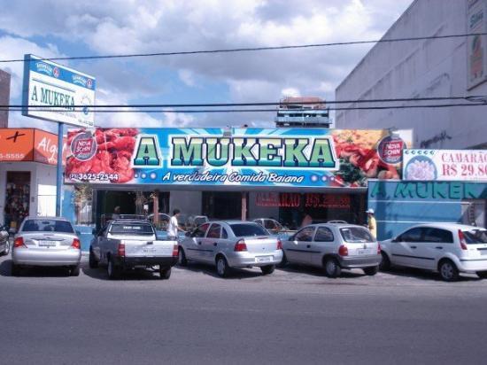 Feira de Santana, BA : A sea food restaurant.