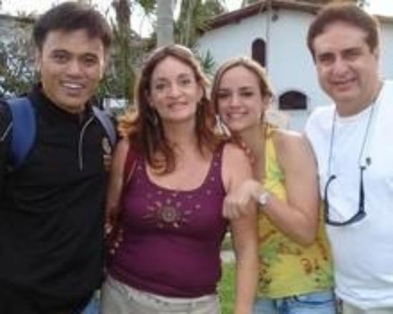 Feira de Santana, BA : GSE Organizing Chairman with wife & daughter
