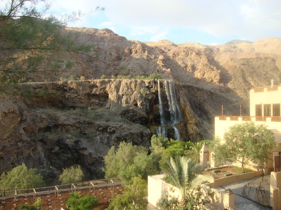 Ma'in, Jordan: View of the hotel from the spa building