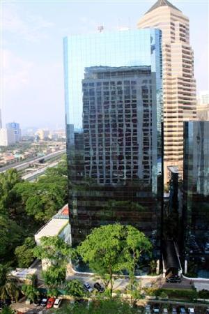 Hotel Maya Kuala Lumpur: Maya in the mirror