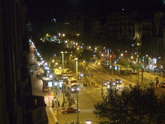 Sixtytwo Hotel: Passeig de Gracia from hotel