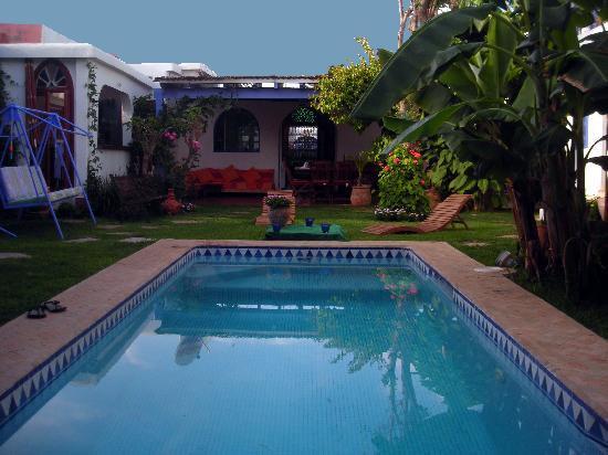 Bouznika, Maroc : la piscine