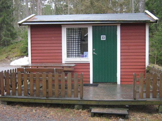 Angby Camping: Vår Friggebod!