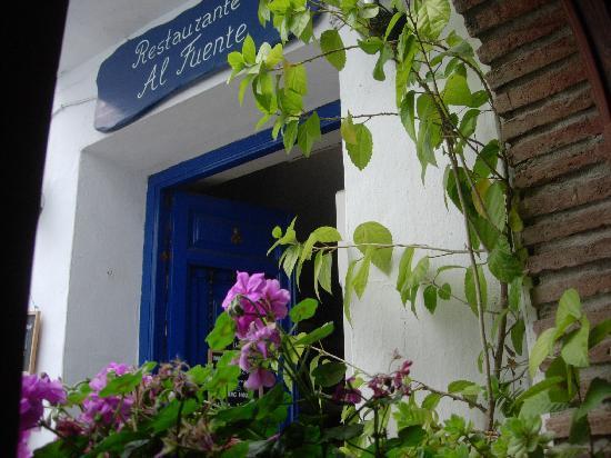 Frigiliana, Spania: Entrabce to Al Fuente