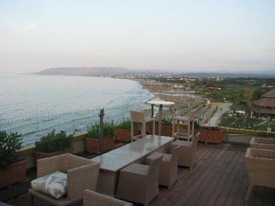 Corissia Princess Hotel: Panorama bar