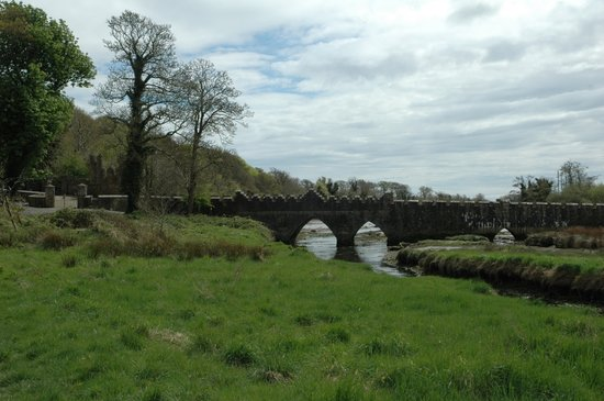 Wexford, Ierland: Tintern Abbey grounds