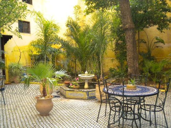 Riad Le Calife : Courtyard