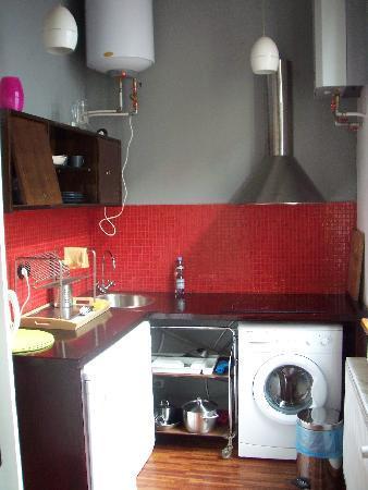 Old Town Designed Apartments : Maja kitchen