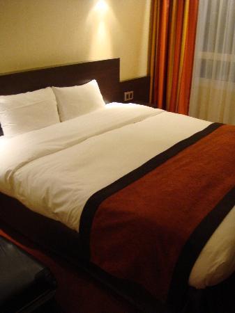Hotel du Beryl: lit