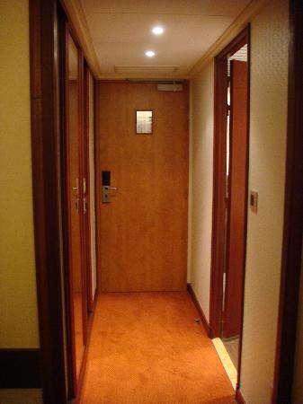 Hotel du Beryl: entrée