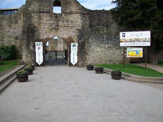 Ludlow Castle: Front of the Castle.