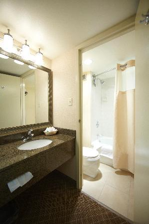 Holiday Inn Calgary - Macleod Trail South : Renovated Guest Washrooms
