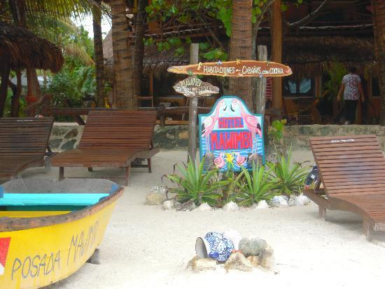 Holbox Hotel Mawimbi: Mawimbi from the beach