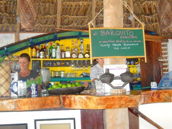 Holbox Hotel Mawimbi: Barquito open for business