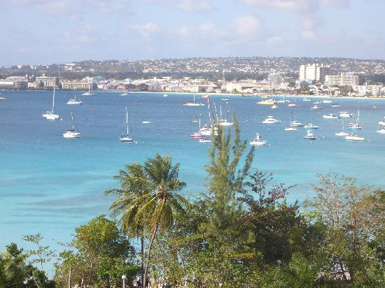 Hilton Barbados Resort: Beautiful view of the harbor from our door