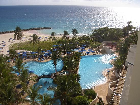 Saint Michael Parish, Barbados: The pool was always a cool end of day
