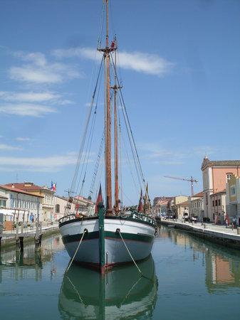 Cesenatico, Italie : Barca Storica