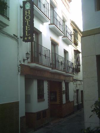 Hotel Al-Andalus entrance