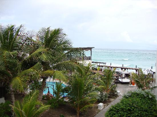 Silver Point Hotel: View from our Room