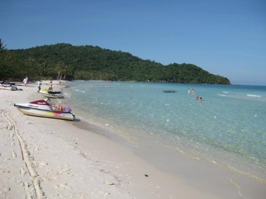 Phu Quoc-øen, Vietnam: Till Sao Beach