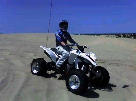 Florence, Oregon: Riding my quad @ the dunes