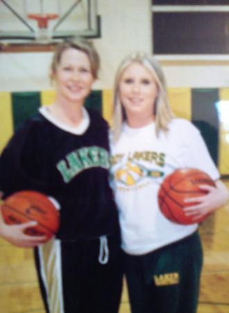 Blachly, OR: Coach Arlene & I Basketball 2007