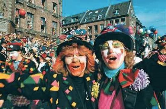 Krefeld, Germany: no carnaval